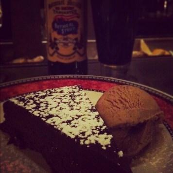chocolate cake beer