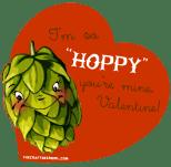 so hoppy you're mine valentine