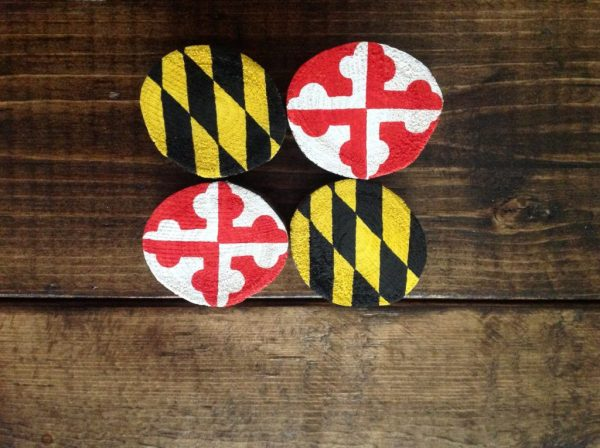 State Flag Tree Branch Slices