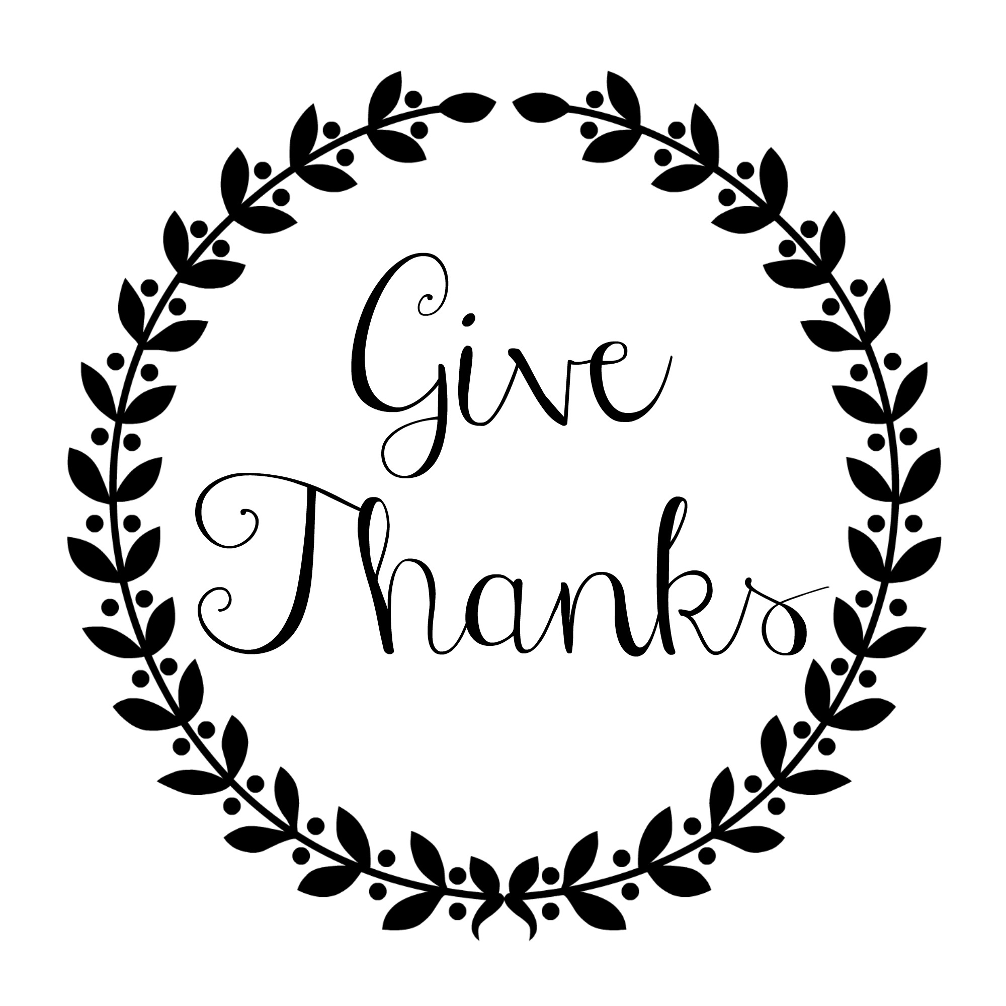 Give Thanks Circle 1