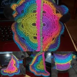 Virus shawl dog jumper. Boho Spirit 6923