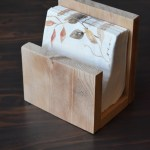 Diy Napkin Holder The Crafted Maker