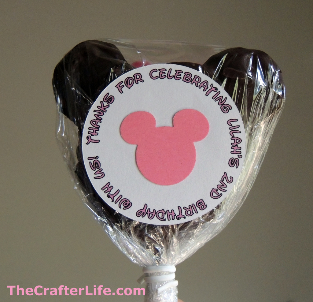 Minnie Mouse Thank You Cards With Printable Labels The