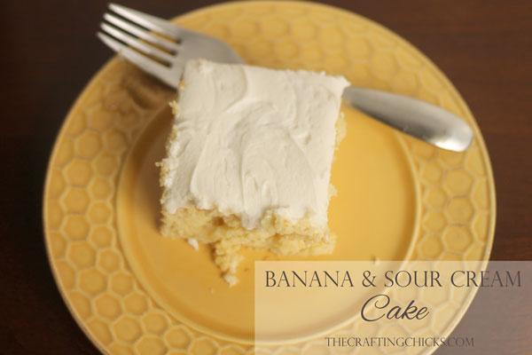 Banana Cake 13x9 Pan