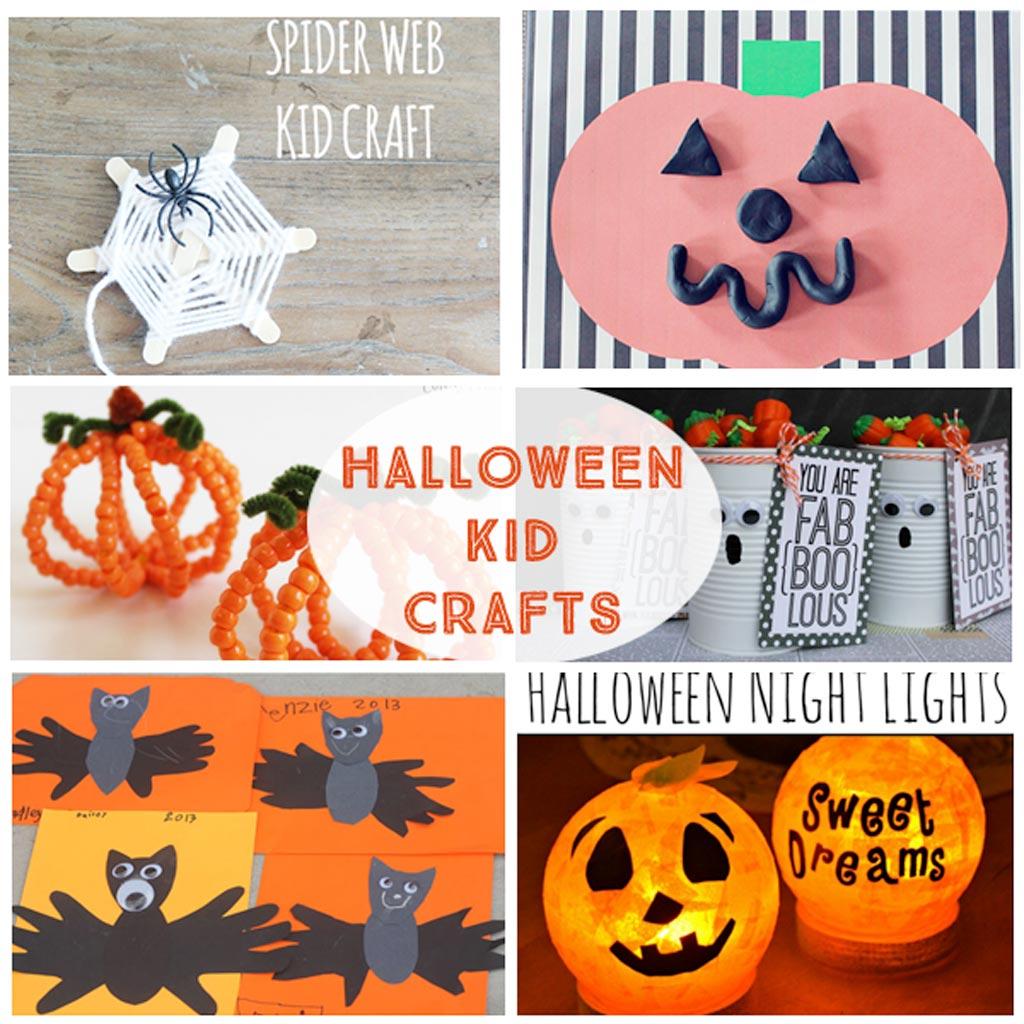 Halloween Kid Crafts