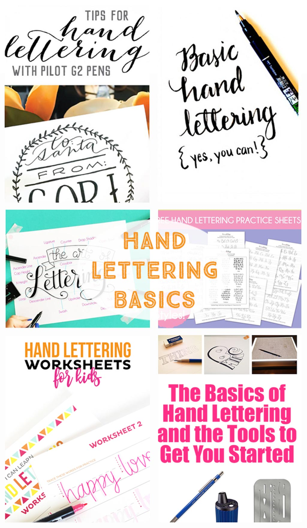 Hand Lettering Tutorials Tips Tricks Tools And Printables
