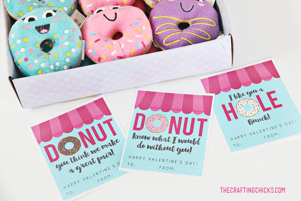 Donut Valentine Printables The Crafting Chicks