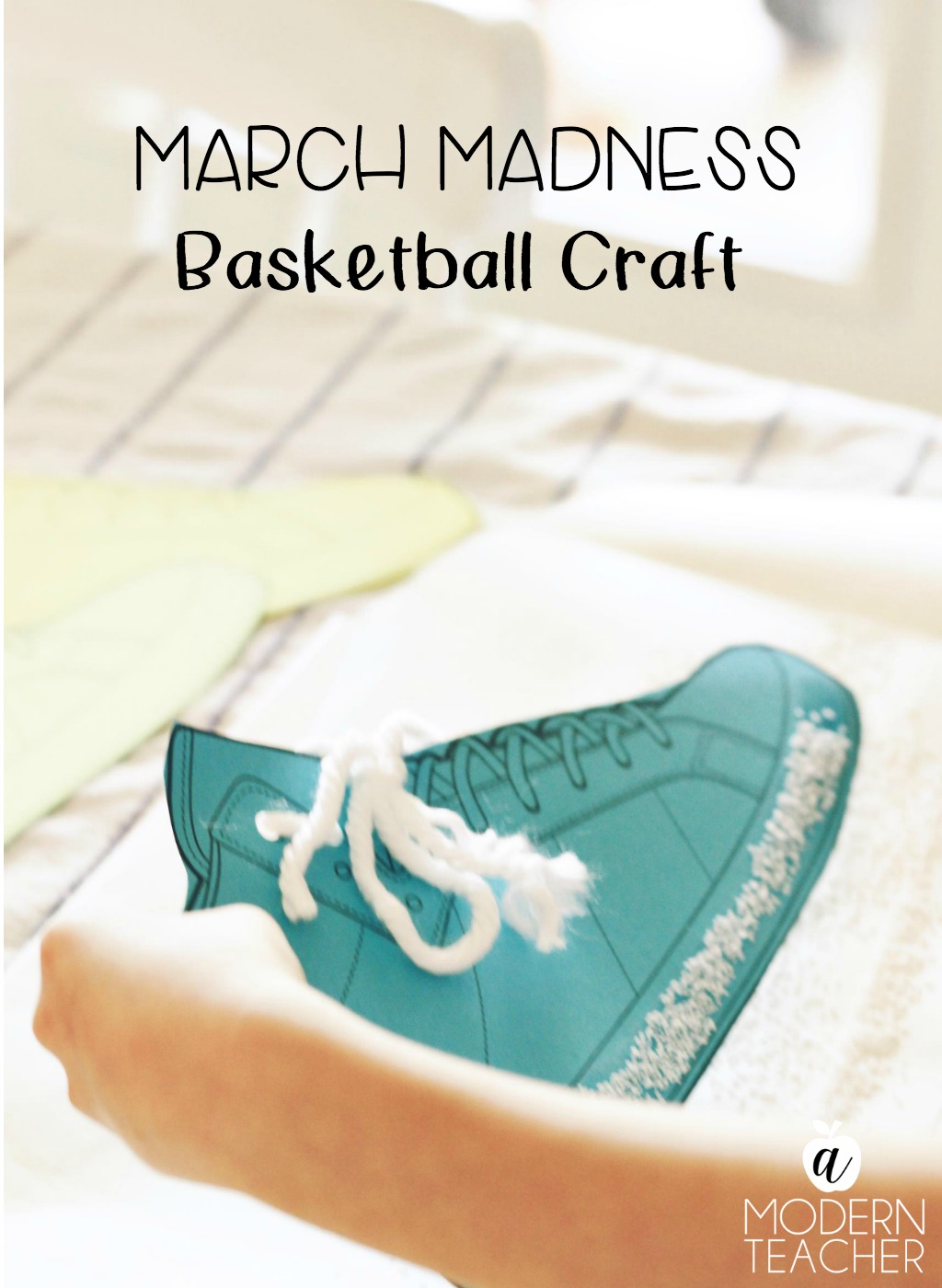 Easy Basketball Craft For Kids