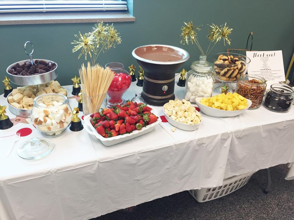 Food Ideas For Red Carpet Teacher Appreciation Week