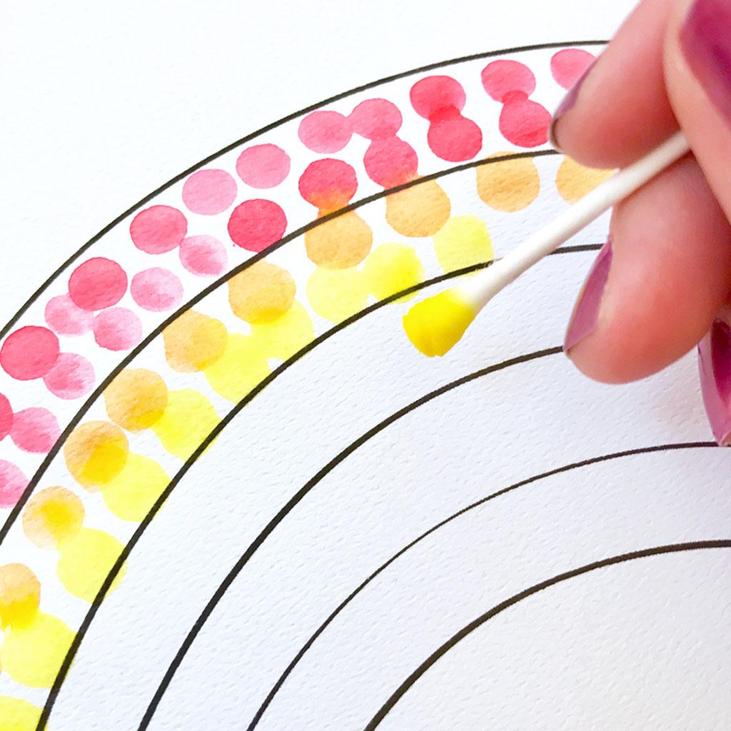 Easy Pointillism For Kids