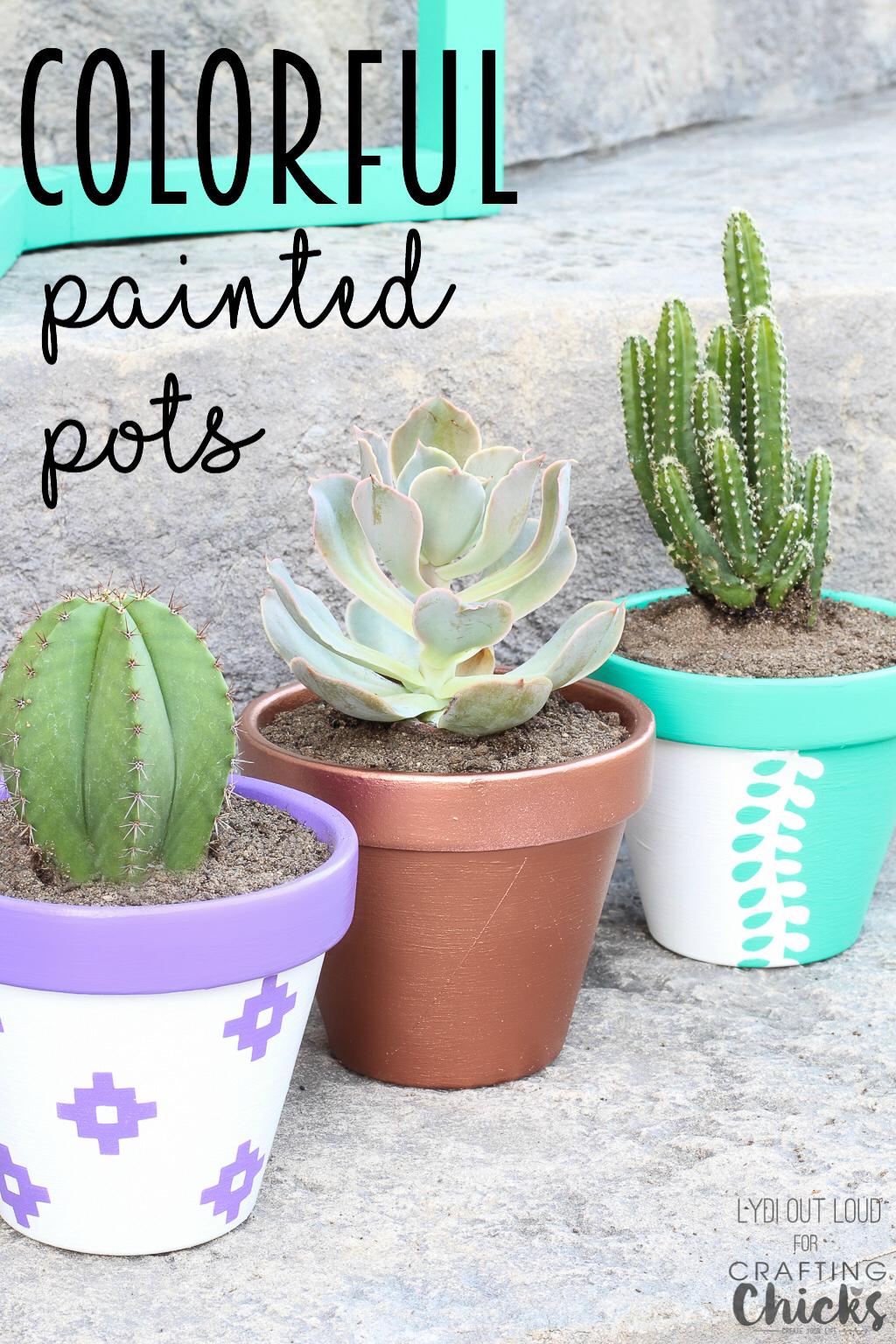 How Paint Terracotta Pots Outside