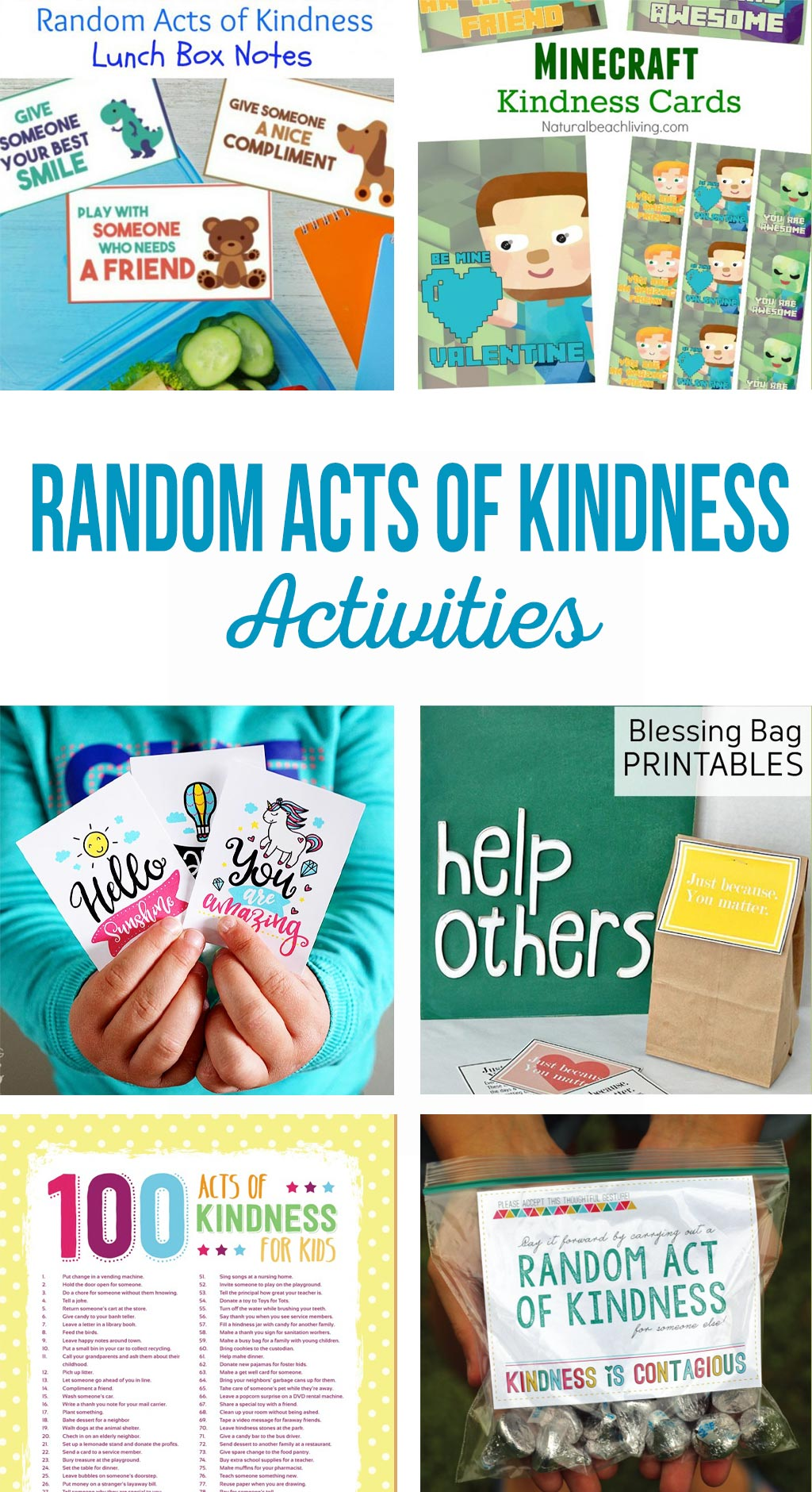 Random Acts Of Kindness Activities