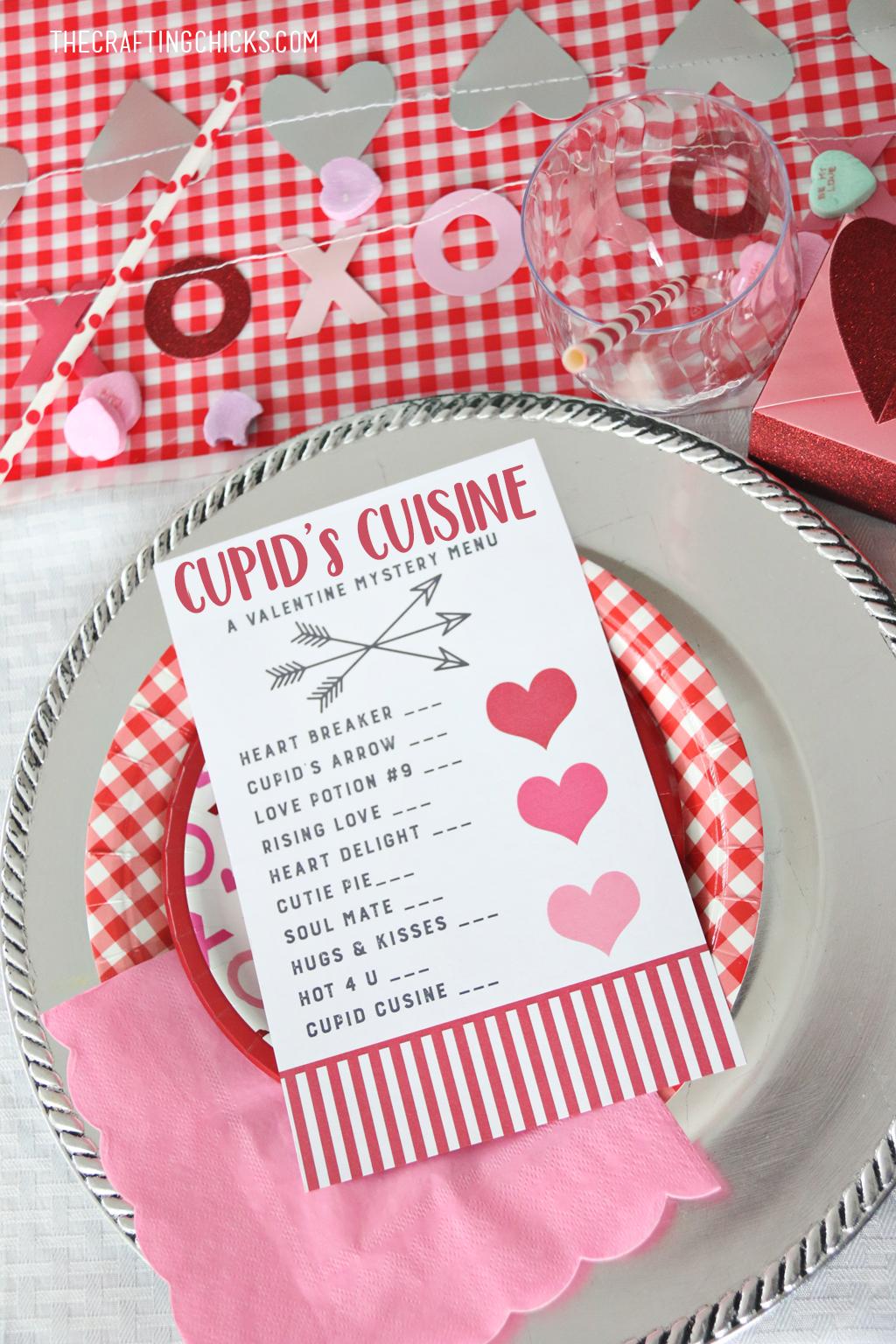 Cupid S Cuisine Valentine S Day Menu