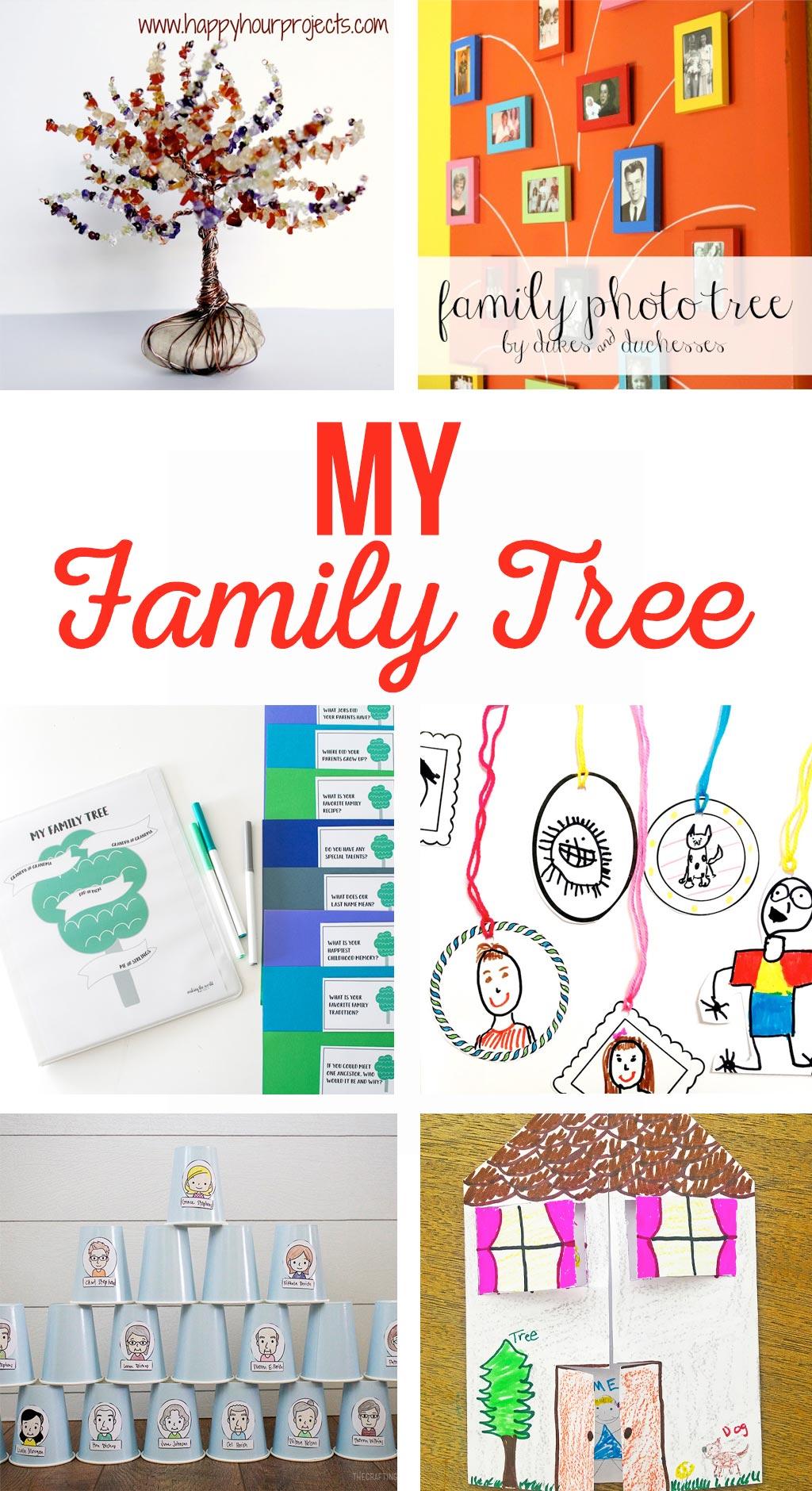 My Family Tree Crafts
