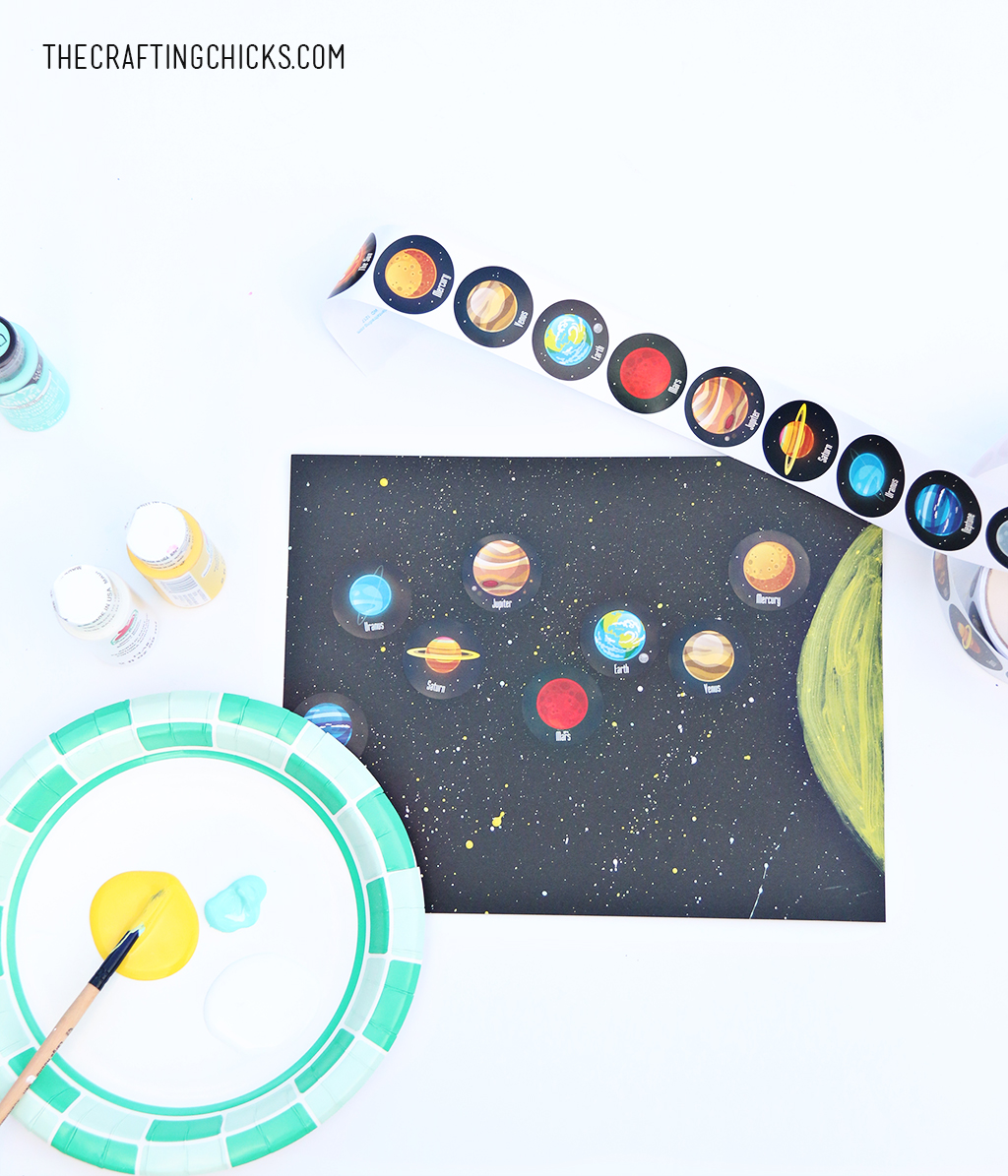 Easy Solar System Craft For Kids