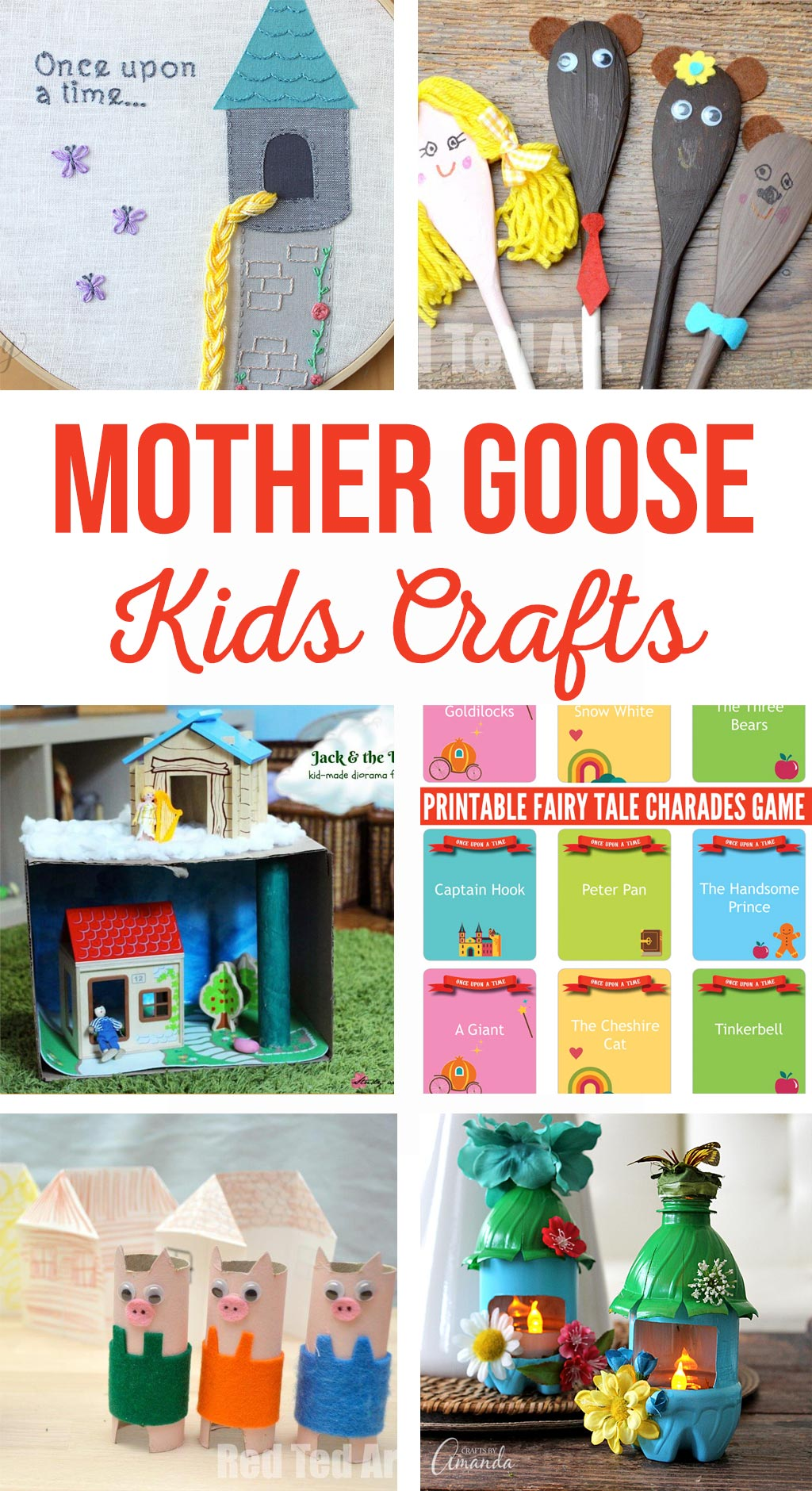 Mother Goose Kids Crafts