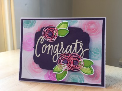 Rosette Congrats