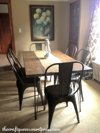 14. Made from Scratch: DIY Rustic Dining Table (2/6)