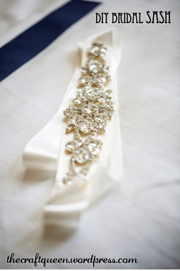 23. DIY Wedding: Bridal Sash (5/5)