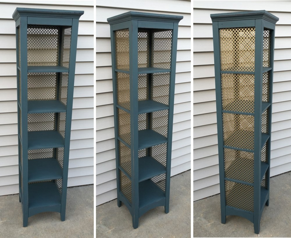 79. Before and After: Tiered Shelf (6/6)