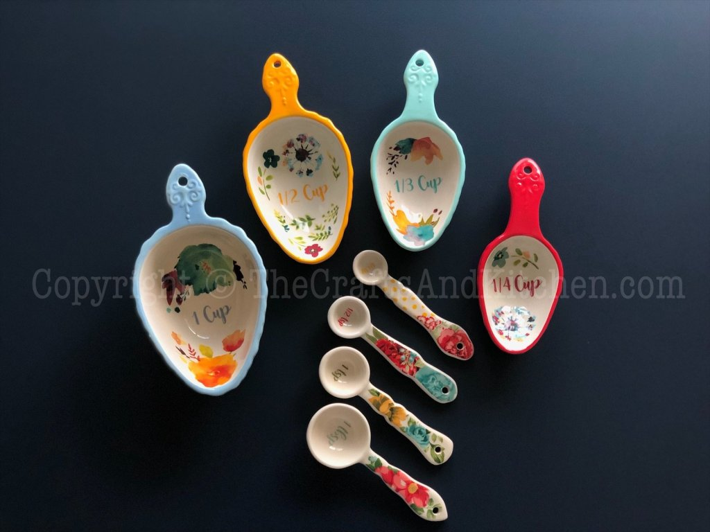 My measuring cups and spoons