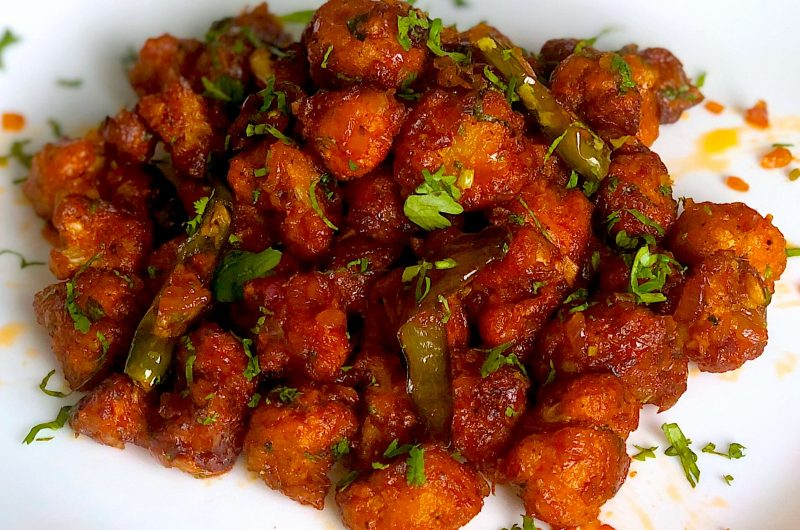 Gobi Manchurian   Crispy dry Gobi Manchurian recipe
