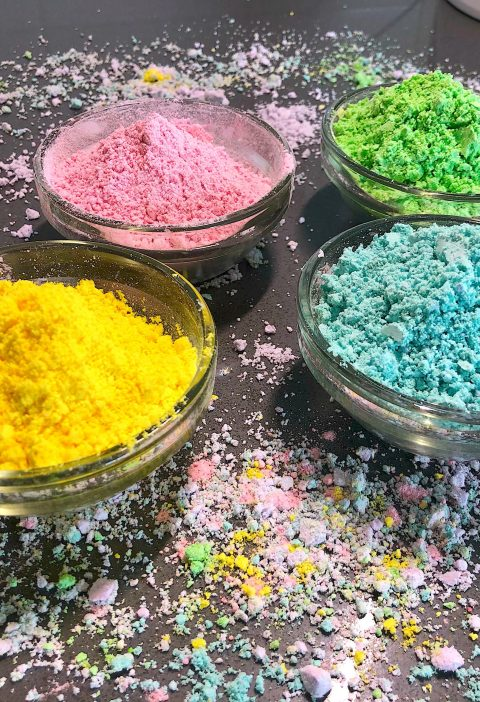 Holi colors with natural colors