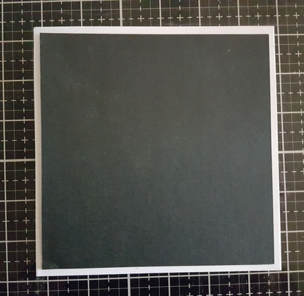 Blank Card with black over lay