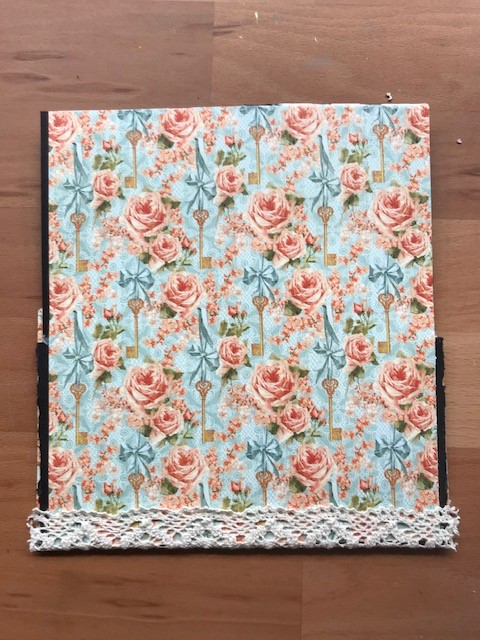 Patterned craft card