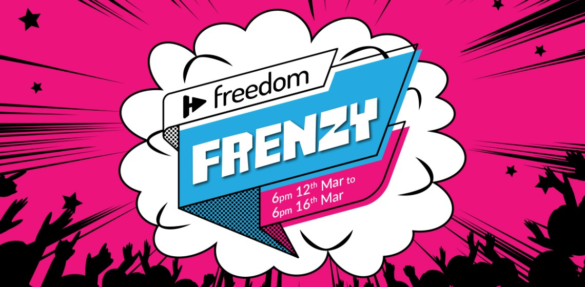 10 reasons to join the freedom frenzy