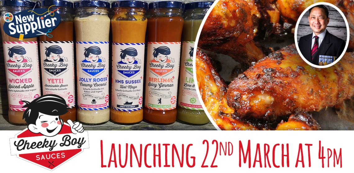 Five flavourful tastes from Cheeky Boy Sauces