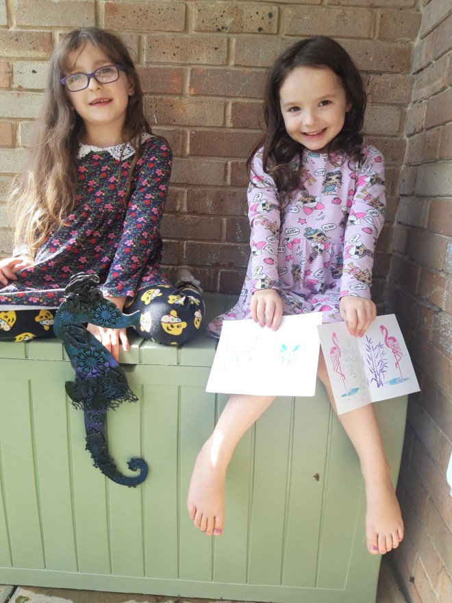 Crafters' Spotlight Maddy and Caitlin pictures