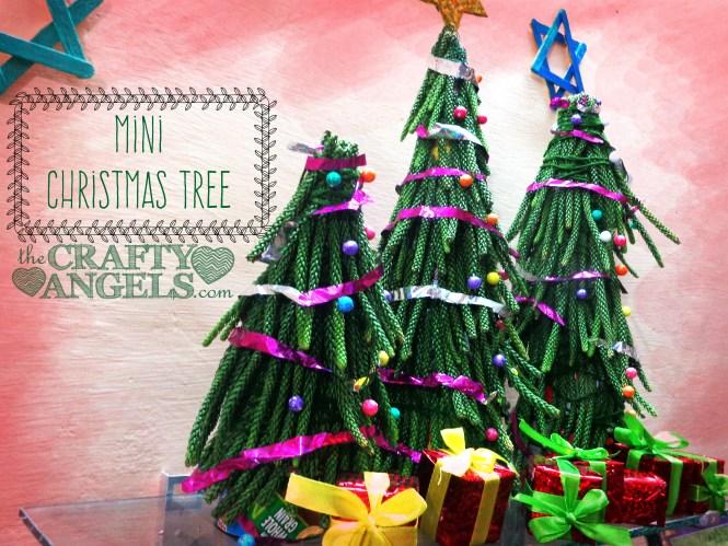 mini christmas tree tutorial1