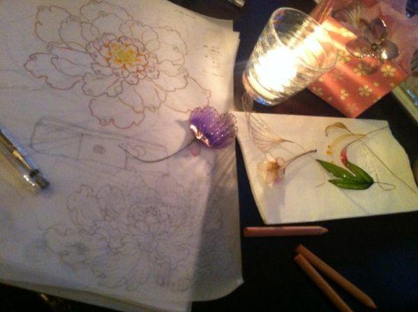 kanzashi flower sakae