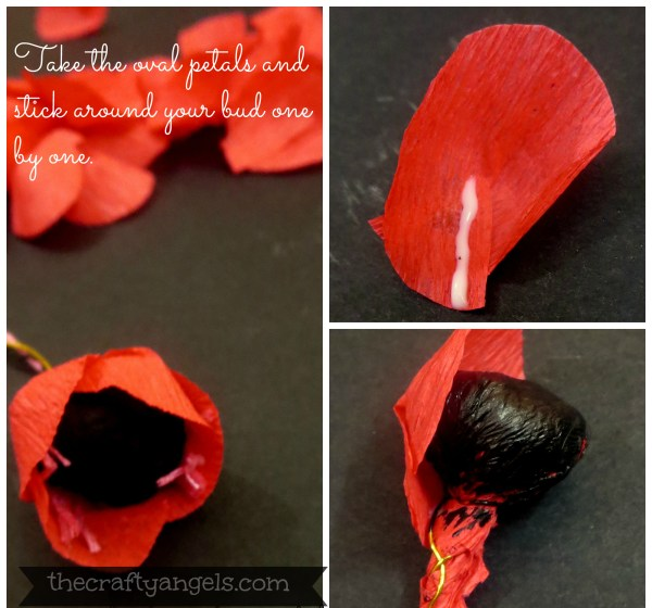Crepe paper flower tutorial (3)