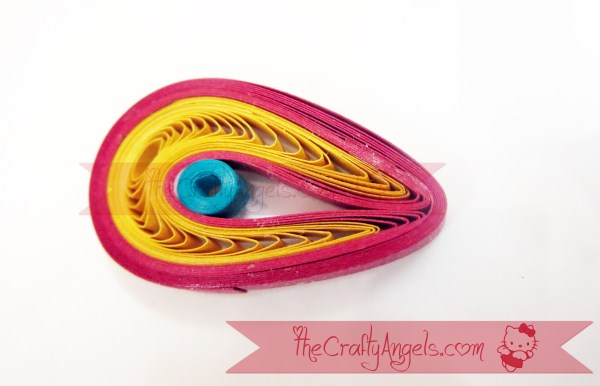 Quilled Malaysian flower tutorial (3)