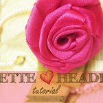 Bow & Rosette Headband Tutorial
