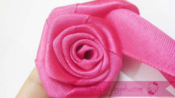 Rosette headband tutorial (2)