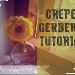 DIY Gerbera Flower tutorial
