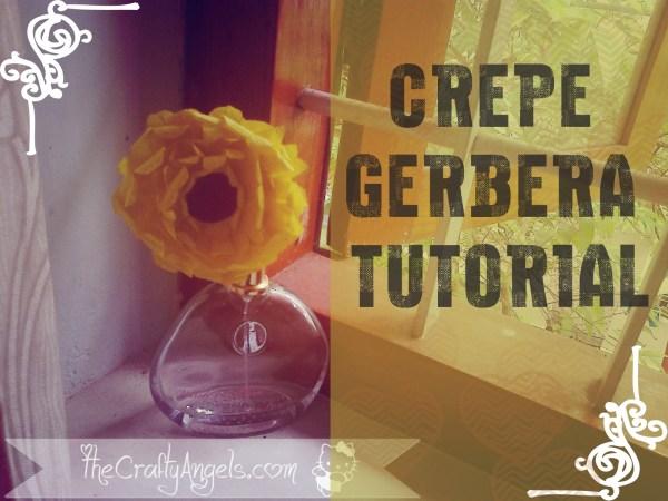 DIY Crepe gerbera flower tutorial (3) copy