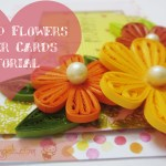 Tight Quilled Flower Tutorial : A Shaker Card
