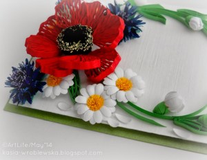 quilling tutorial punched petal quilled daisy flower tutorial