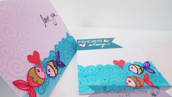Ocean theme greeting card (13)