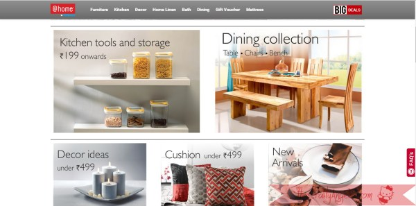 At-Home nilkamal online retail store review