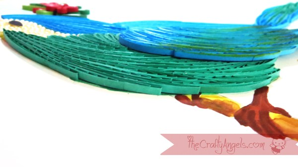 quilled bird quilling combing technique tutorial (20)