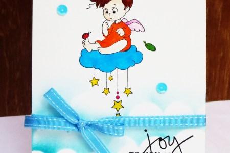 Handmade Angel Christmas Cards