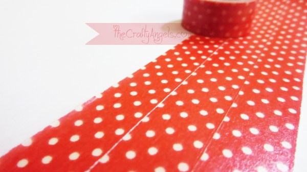 Handmade flower with washi tape tutorial (12)