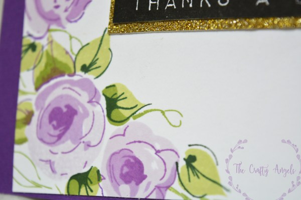 altenew painted flowers, altenew shades of purple crisp ink, altenew label love, altenew, thankyou card, indian craft blog