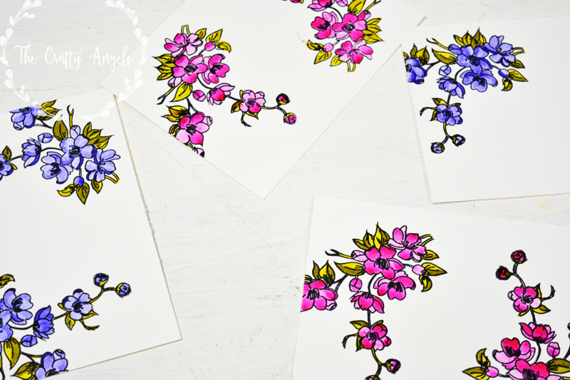 peekaboo designs, indian stamp, cardmaking, papercraft, flower card, thankyou card, friends card, handmade friendship card, peekaboo stamps, stamps in india, cardmakingi n india, online craft supply store india
