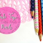 DIY Washi tape pencil craft
